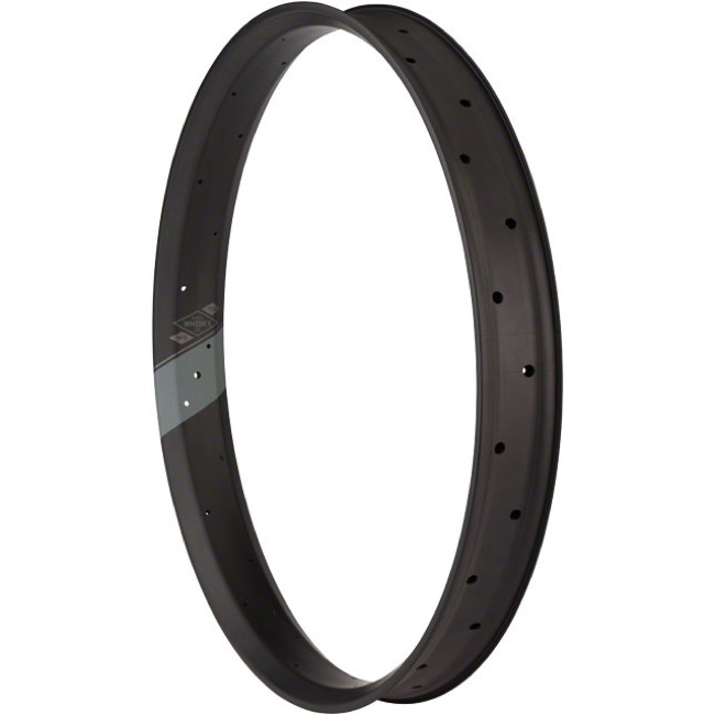 "Whisky Parts Co. No.9 Carbon 70mm Fat Bike Rims - 26"" x 32 Hole (Carbon)"