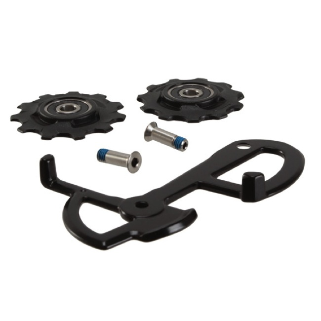 Sram Mountain Rear Derailleur Parts - X.0 Type-2 Short Cage Assembly (Alloy)