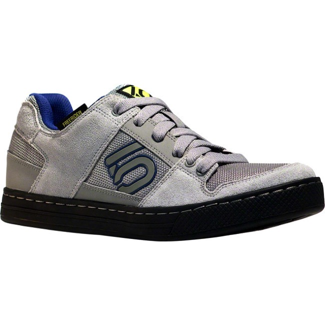 Five Ten FreeRider Shoe - Grey/Blue - Size 12 (Grey/Blue)