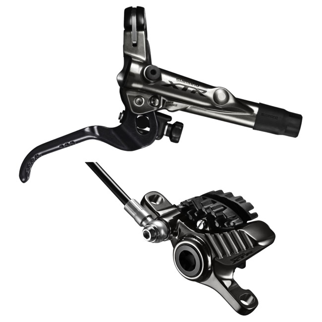 Shimano BR-M9020 XTR Trail Disc Brakes - Front Brake ONLY (1000mm)