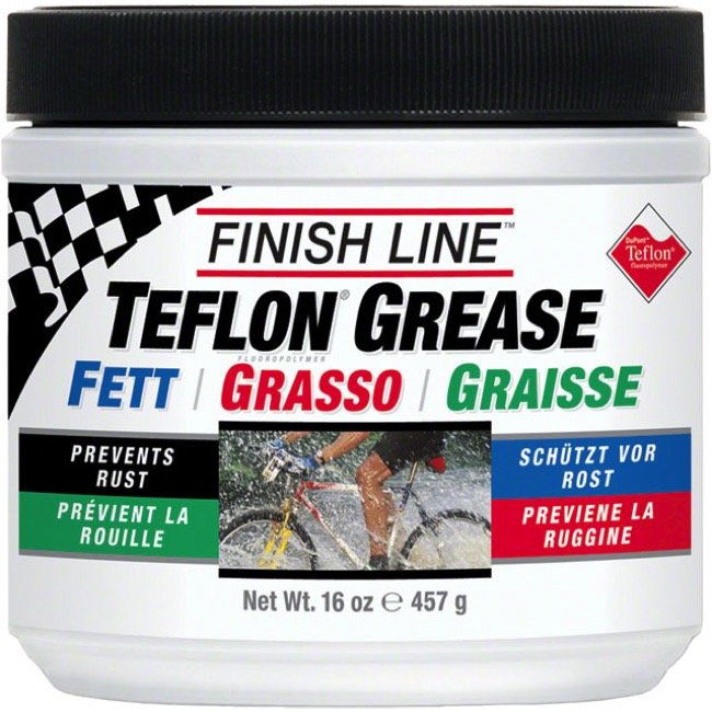 Finish Line White Grease Tub - 16 oz