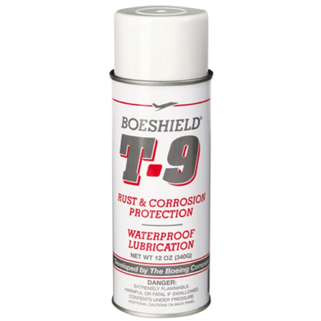 Boeshield T9 Aerosol Lubricant - 12 oz Can