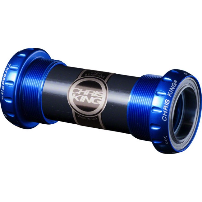 Chris King ThreadFit 24 Bottom Bracket - Navy Blue