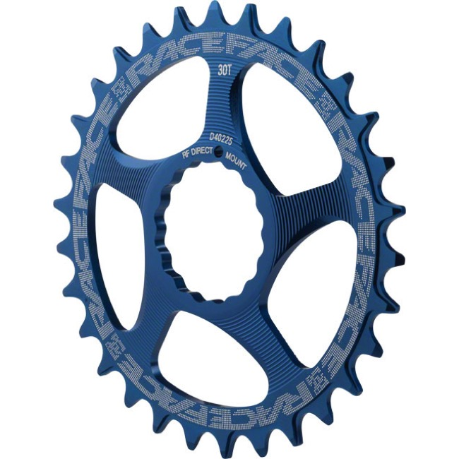 Race Face Direct Mount Cinch Narrow Wide Chainring - 2017 - 30 Tooth x Direct Mount (Blue)
