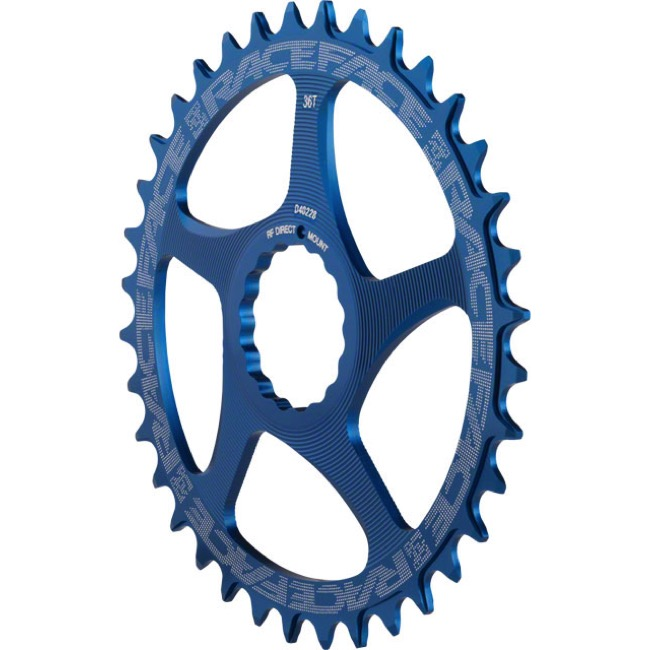 Race Face Direct Mount Cinch Narrow Wide Chainring - 2017 - 36 Tooth x Direct Mount (Blue)