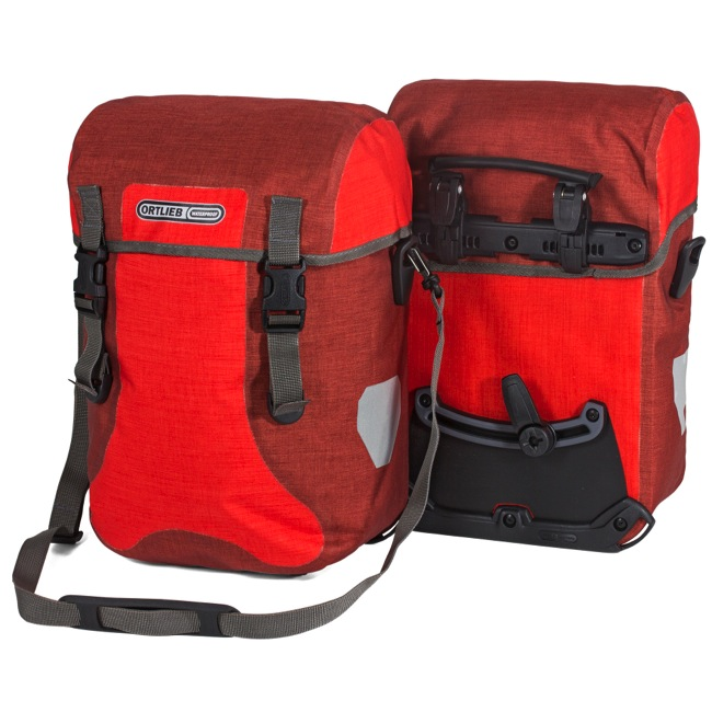 Ortlieb Sport Packer Plus Panniers - Signal Red/Chili (Pair)
