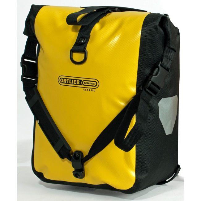 Ortlieb Sport Roller Classic Panniers - Yellow/Black (Pair)