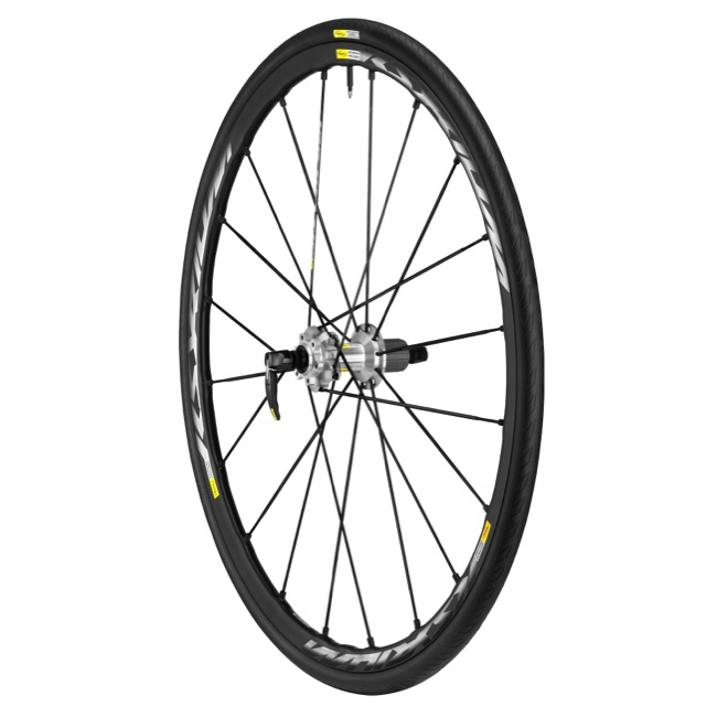 Mavic Ksyrium Pro Disc Rear Wheel 2015 - Rear Wheel ONLY (135mm Quick Release)
