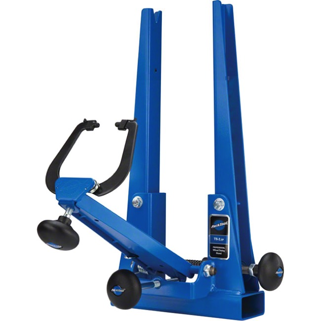 Park Tool TS-2.2P Wheel Truing Stand - Truing Stand (Powder Coat Blue)