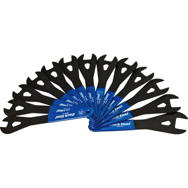 Park Tool SCW-SET.3 Cone Wrench Set - Wrench Set