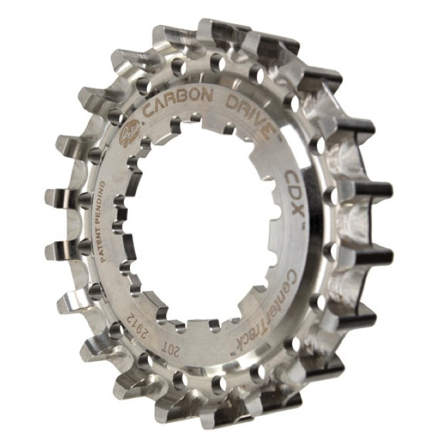 Gates Carbon Drive CDX CenterTrack Rear Cog - 20 Tooth (Hyperglide)