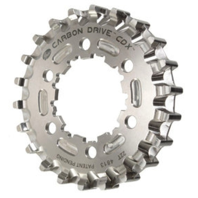 Gates Carbon Drive CDX CenterTrack Rear Cog - 22 Tooth (9-Spline 6-Bolt)