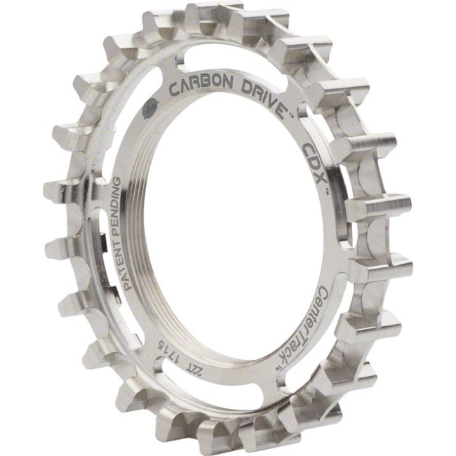 Gates Carbon Drive CDX CenterTrack Rear Cog - 20 Tooth (Rohloff Threaded)