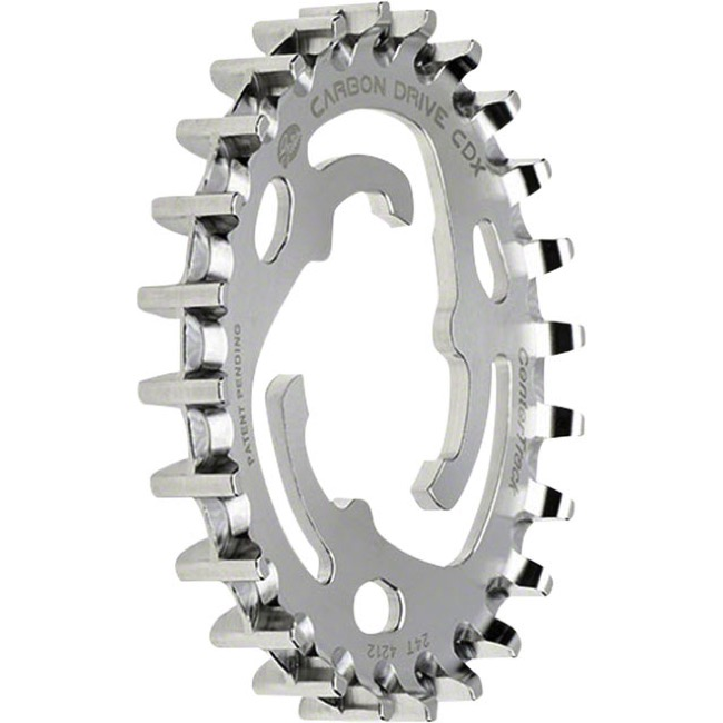 Gates Carbon Drive CDX CenterTrack Rear Cog - 24 Tooth (SureFit 3-Lobe, Nexus/Alfine)
