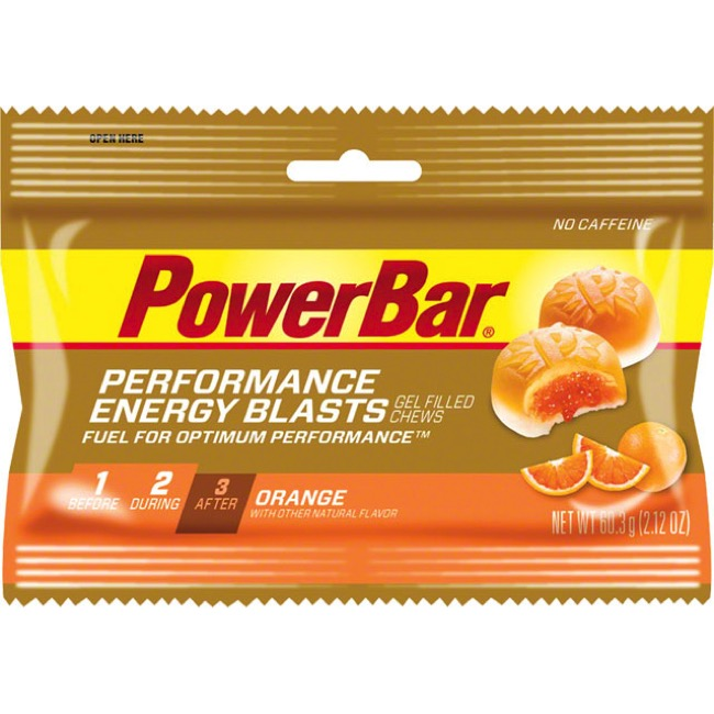 PowerBar Gel Blasts - Orange (Box of 12)