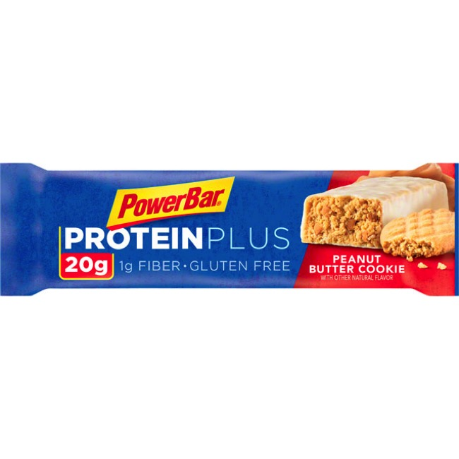 PowerBar Protein Plus Bars - Peanut Butter Cookie (Box of 15)