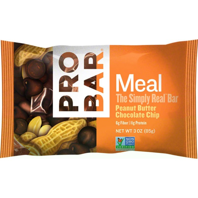 ProBar Meal Bars - Peanut Butter Chocolate Chip (Box of 12)
