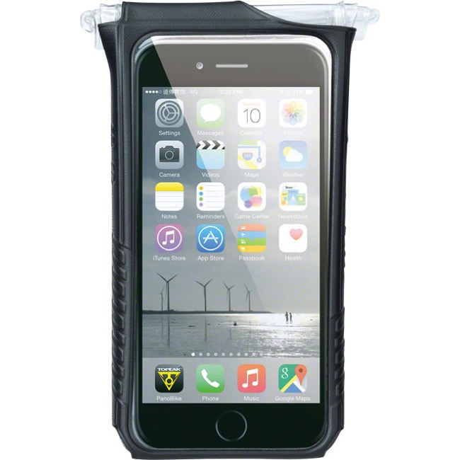 Topeak Smartphone DryBag - Fits iPhone 6 Plus (Black)