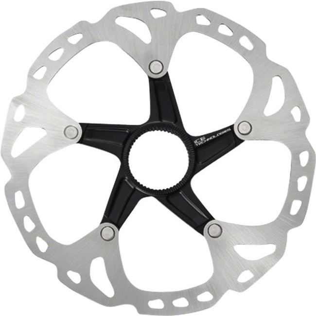 Shimano Centerlock Disc Brake Rotors - SM-RT81SS (140mm) XT Ice Tech Centerlock rotor