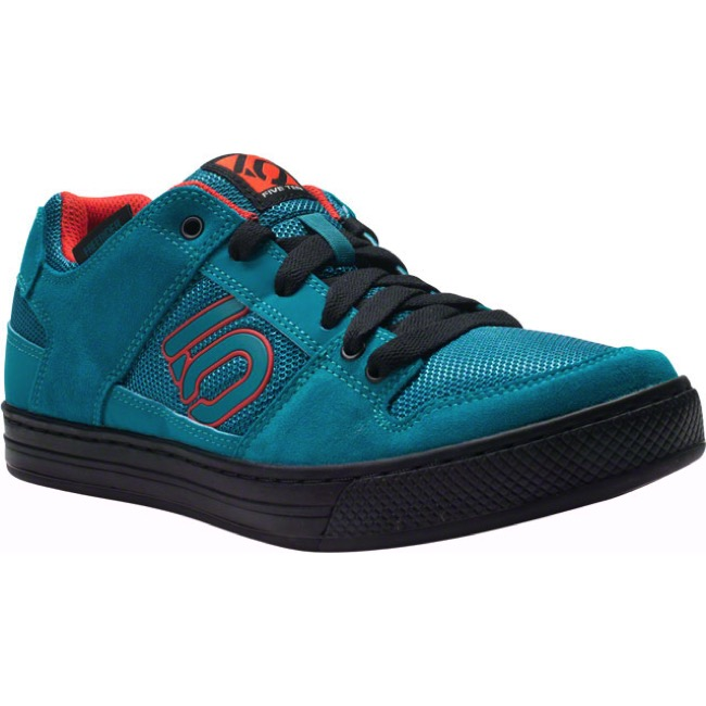 Five Ten Freerider Shoe - Teal/Grenadine - Size 9.5 (Teal/Grenadine)