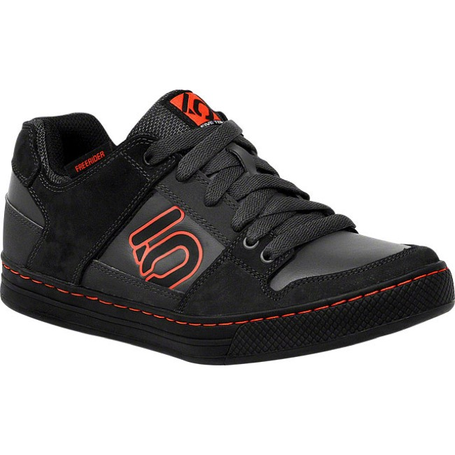 Five Ten Freerider Kid's Shoe - Black/Red - Size 1.5 (Black/Red)