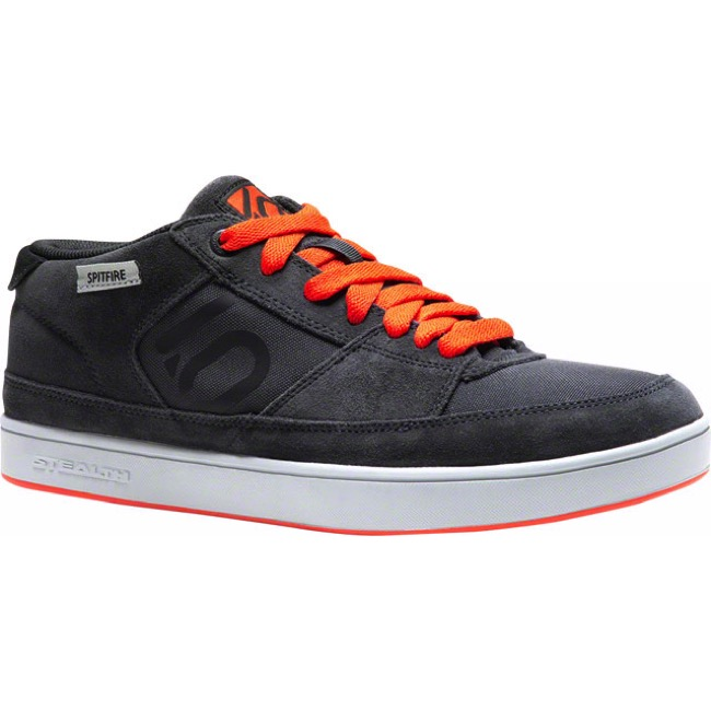 Five Ten Spitfire Shoe - Dark Grey/Orange - Size 8 (Dark Grey/Orange)