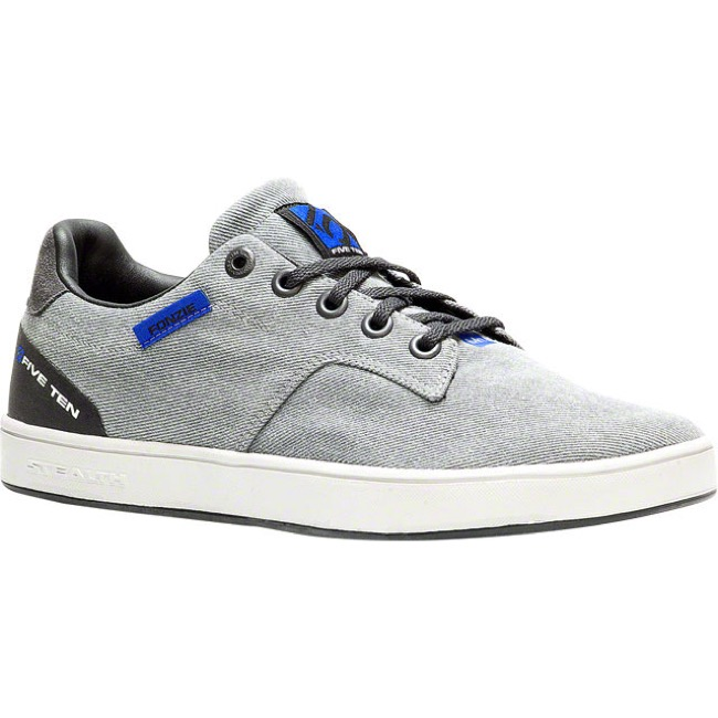 Five Ten Sleuth Canvas Shoe - Gray/Blue - Size 8 (Gray/Blue)