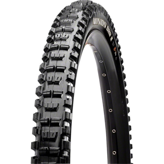 "Maxxis Minion DHR II Super Tacky/DH 27.5"" Tire - 27.5 x 2.4"" WT (Steel Bead)"