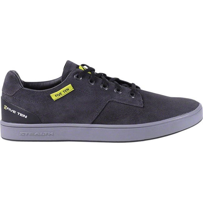 Five Ten Sleuth Shoe - Black/Lime - Size 13 (Black/Lime)