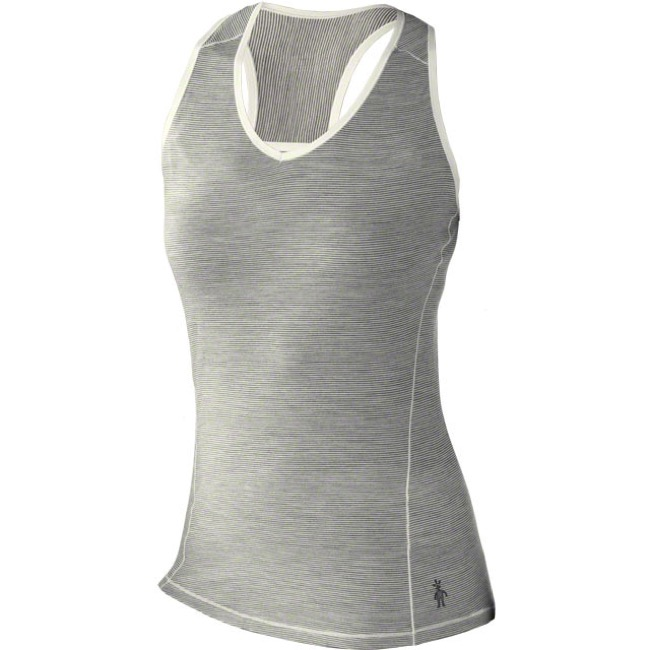 Smartwool Microweight Base Layer Women's Tank Top - Medium (Silver/Gray)