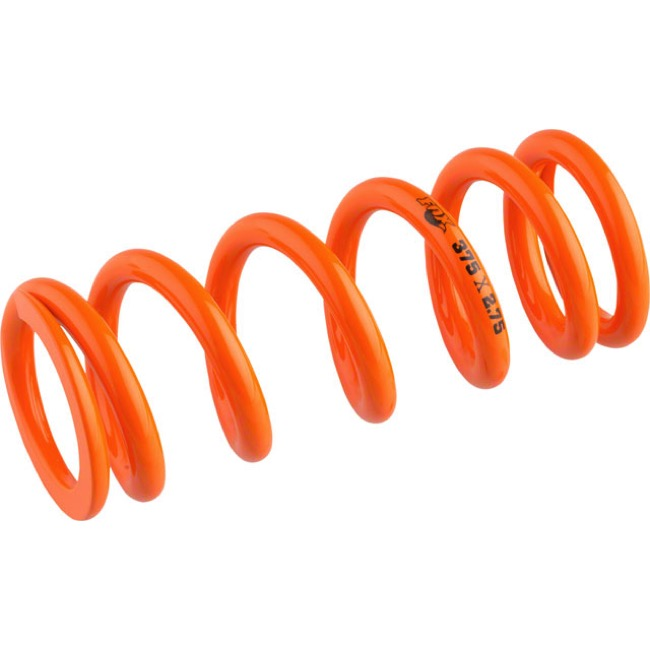 "Fox Racing Shox SLS Rear Spring - 2.75"" x 350# (Orange)"