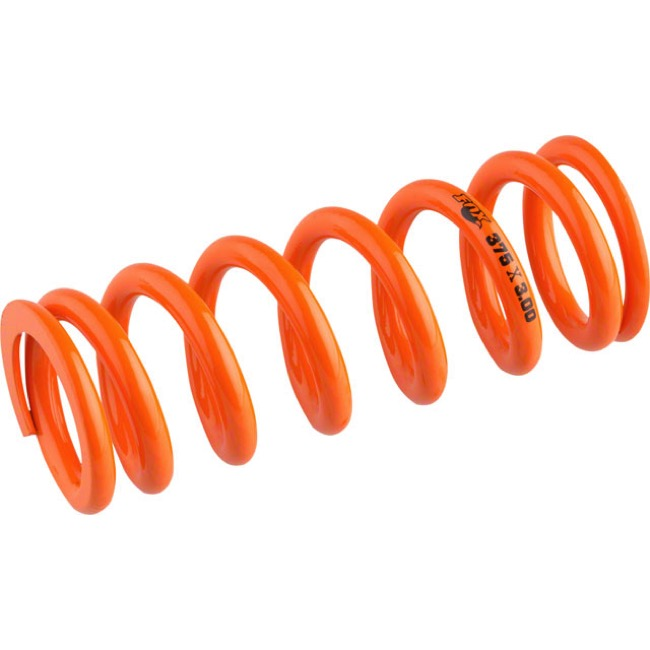 "Fox Racing Shox SLS Rear Spring - 3.00"" x 350# (Orange)"