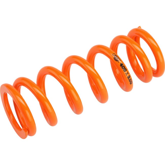 "Fox Racing Shox SLS Rear Spring - 3.00"" x 400# (Orange)"