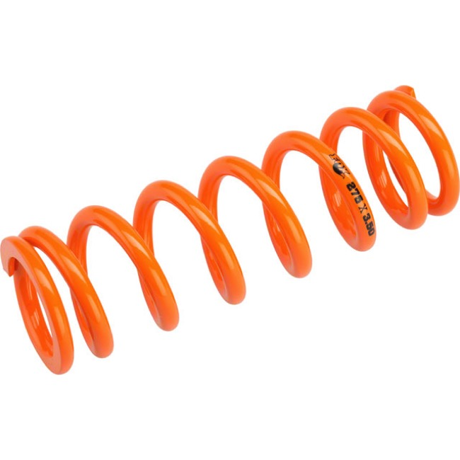"Fox Racing Shox SLS Rear Spring - 3.50"" x 275# (Orange)"