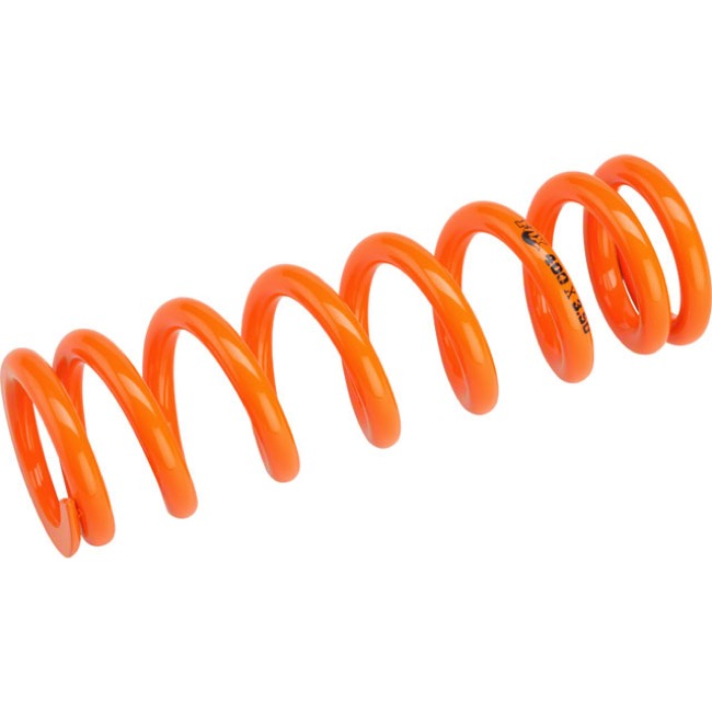 "Fox Racing Shox SLS Rear Spring - 3.50"" x 400# (Orange)"