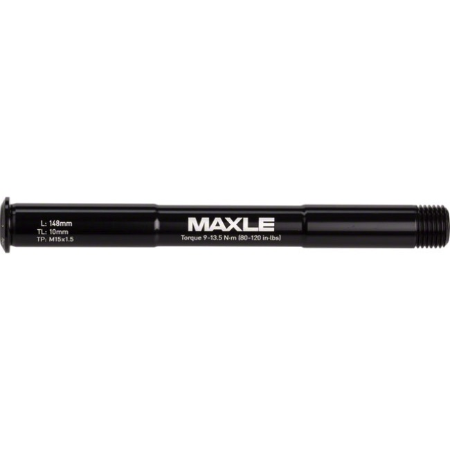 Rock Shox Maxle Stealth MTB Fork Thru Axles - 15mm x 100mm  (Black)