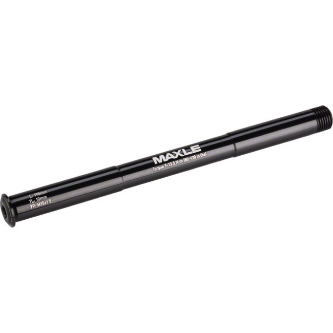 Rock Shox Maxle Stealth MTB Fork Thru Axles - 15mm x 150mm, Bluto (Black)