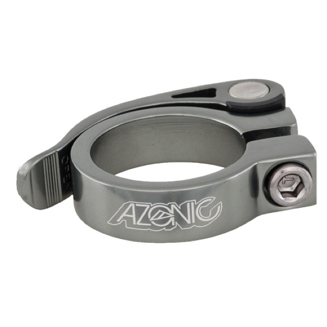 Azonic Gonzo Quick Release Post Clamp - 31.8mm (Ti Grey)