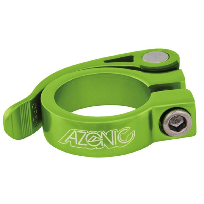 Azonic Gonzo Quick Release Post Clamp - 34.9mm (Green)