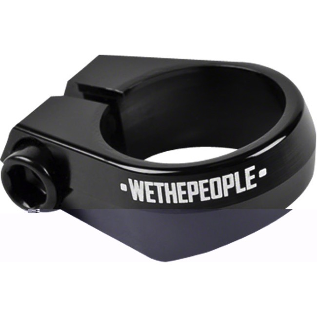 We The People Supreme Seat Clamp - 25.4mm Clamp (Black)