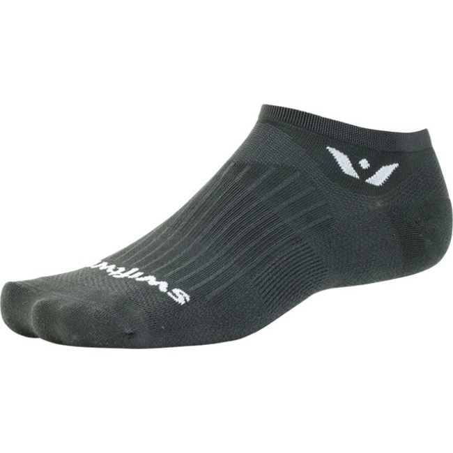 Swiftwick Aspire Zero Socks - Gray - Small (Gray)