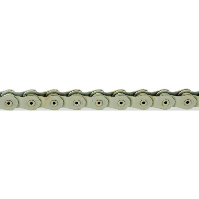 "1//8/"" 100 Links Gold KMC HL710 Half-Link Chain"