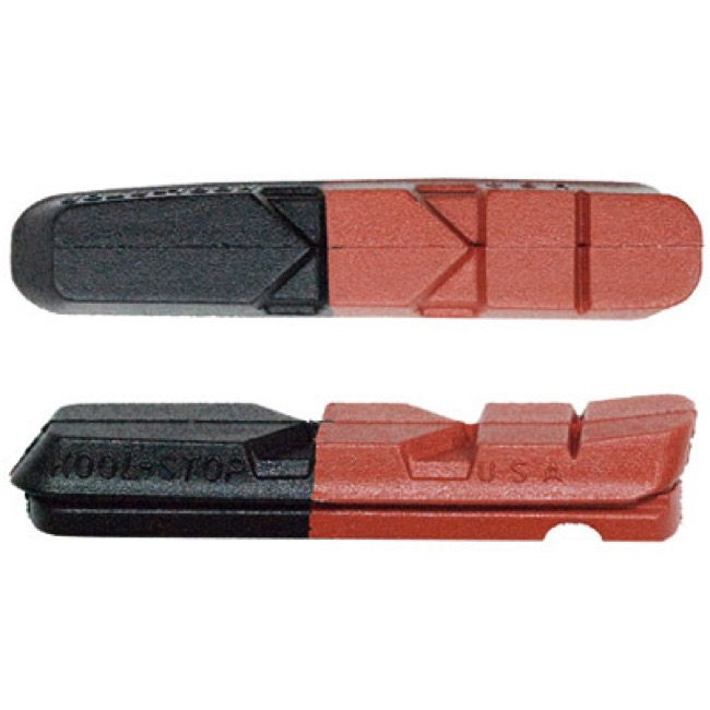 Kool Stop Shimano Road Brake Pad Inserts - Dual Compound