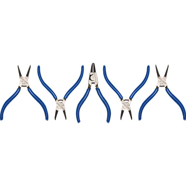 Park Tool RP Snap Ring Pliers - RP-SET.2 (RP-1, RP-2, RP-3, RP-4, and RP-5)