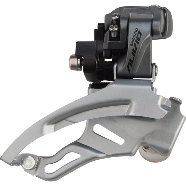 Shimano FD-M4000-DS Alivio Triple Front Derailleur - 9 Speed - 28.6/31.8/34.9 Multi Clamp