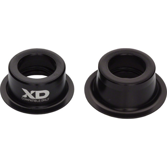 Sram End Cap Conversion Kits - Rear, 12x135mm Thru Axle End Caps, for XD-11 Driver (XO Hub)