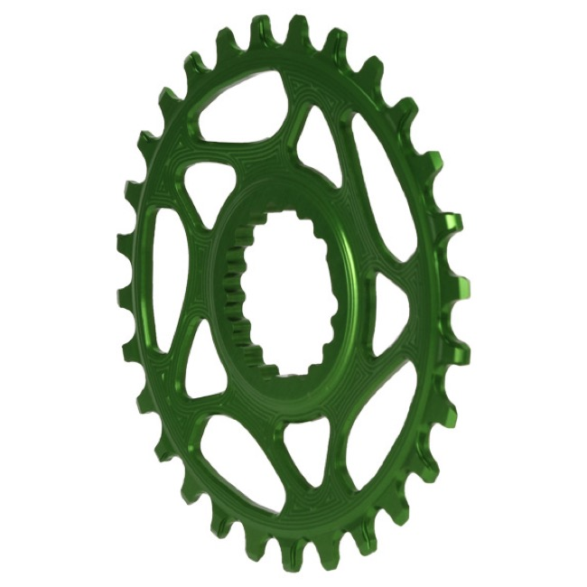 AbsoluteBlack Direct Mount Cannondale Chainring - 30 Tooth (Green)