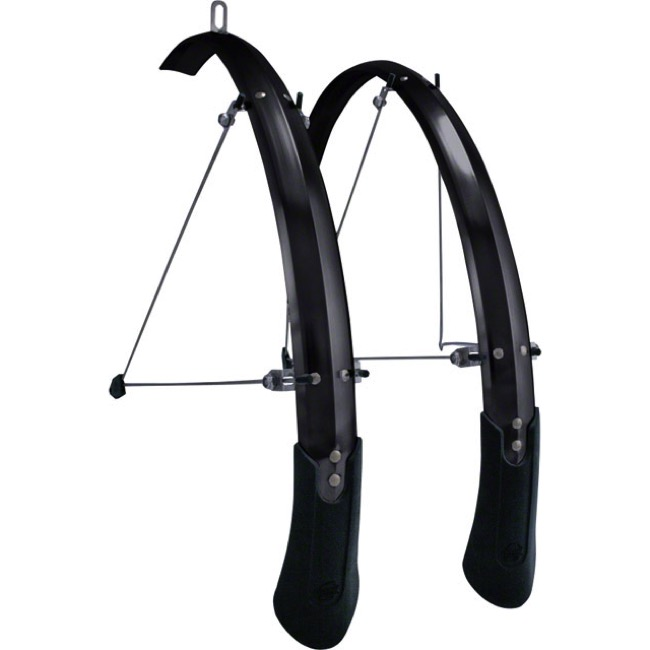 "Planet Bike Cascadia ALX 29"" Fenders - Medium, 29"" x 65mm (Black)"