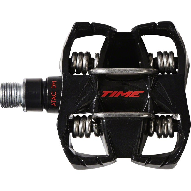 Time ATAC DH4 Pedals - Pair (Black)