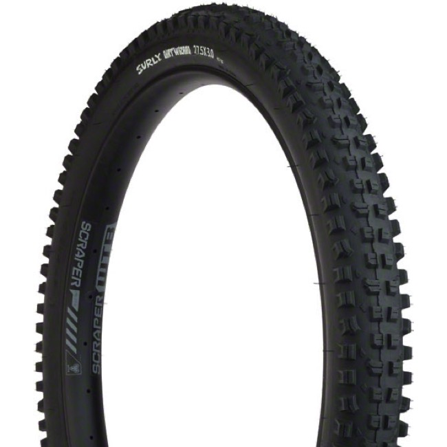 "Surly Dirt Wizard 27.5"" Plus (650b) Tires - 27.5"" x 3.0"" (60 TPI, Folding Bead)"